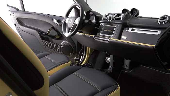 Das Cabrio Smart Fortwo Edition Moscot ist auf 100 Einheiten limitiert.