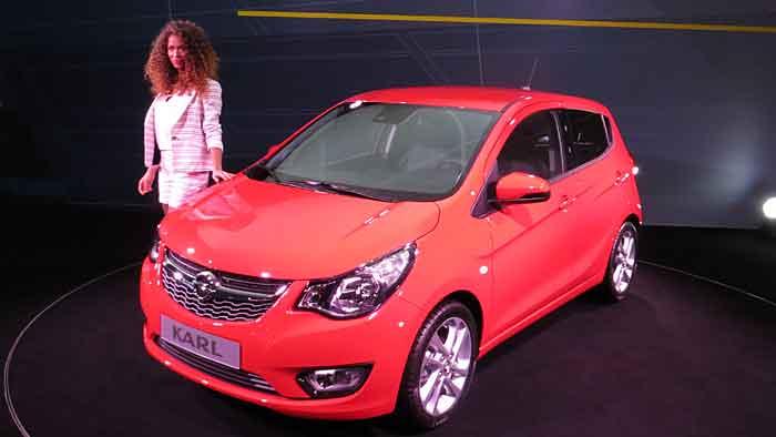 Opel Karl als Gegenpol zum Adam