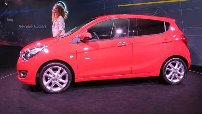 Der Opel Karl feiert seine Premiere auf dem Autosalon in Genf.