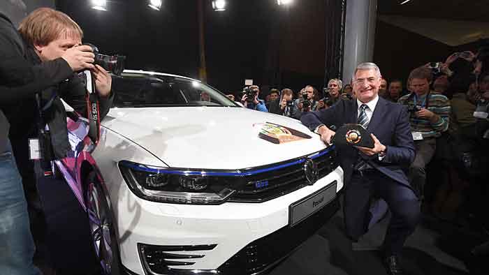 VW Passat ist «Auto des Jahres 2015»