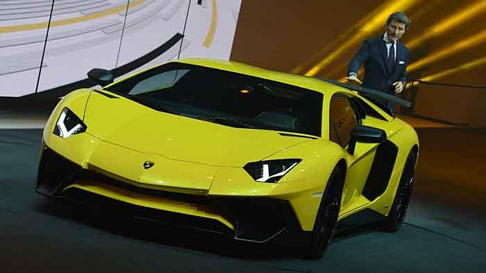 Der Lamborghini AventadorLP 750-4 Superveloce