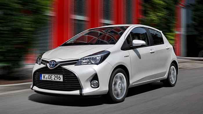 Der Toyota Yaris gibt eine gute Figur ab.