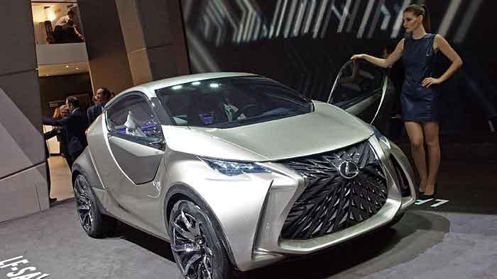 Lexus LF-SA: Oberklassen-Luxus für Kleinstwagen