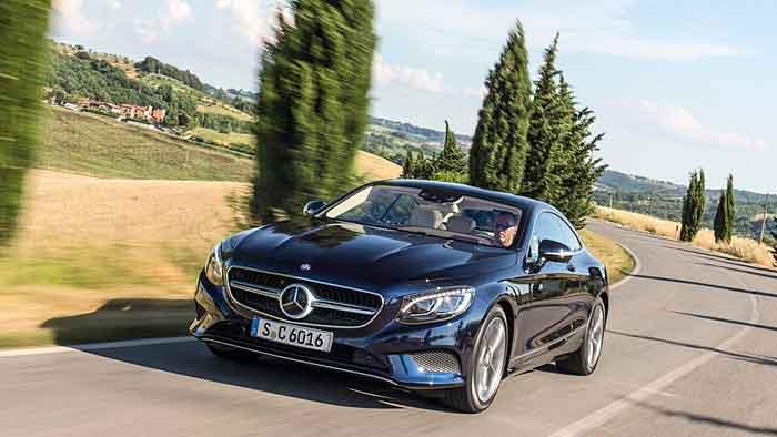 Beim Mercedes S 500 Coupé ist alles vom Feinsten.