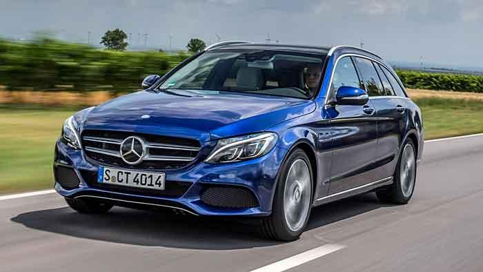 Mercedes blieb im April bei den Neuzulassungen unterm Strich.