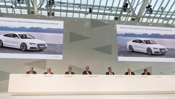 Audi setzt auch in 2015 auf neue Bestwerte