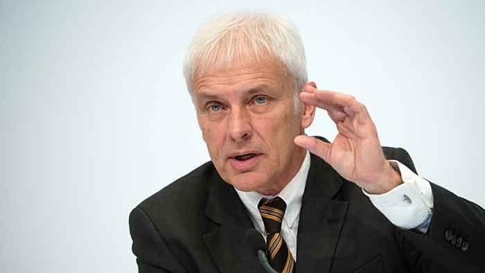 VW-Chef Matthias Müller steht vor keiner leichten Zeit.