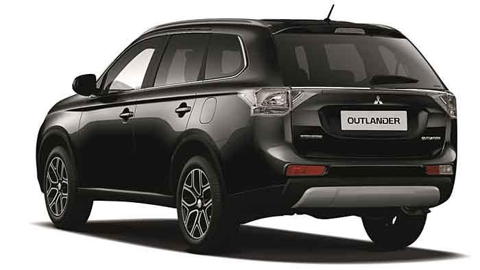 Mitsubishi verleiht dem Outlander die Klassik Kollektion.