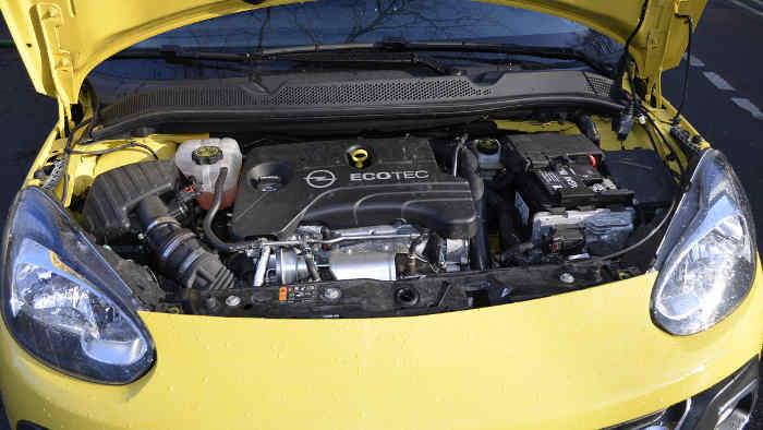 Der Dreizylinder im Opel Adam Rocks