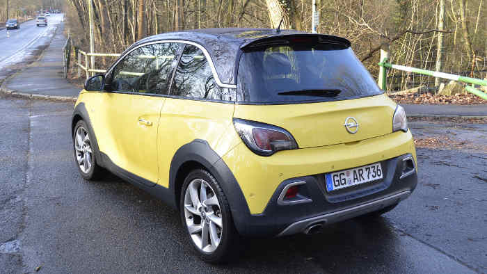 Der Opel Adam Rocks