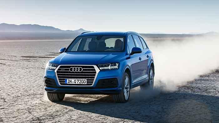 Der neue Audi Q7 soll den Absatz weiter beflügeln.
