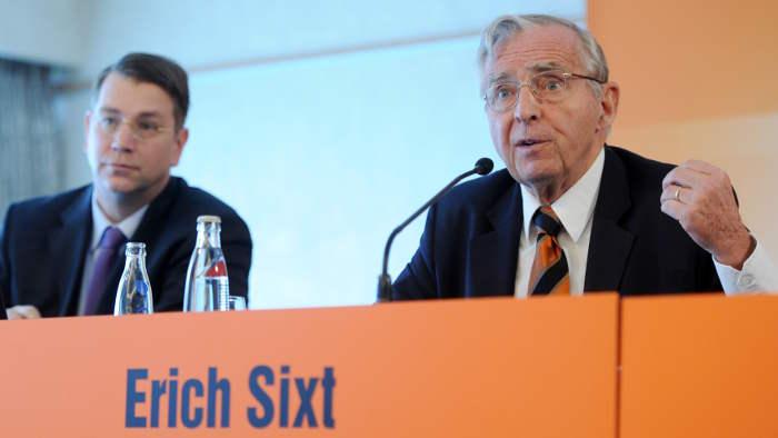 Ericht Sixt kann mit 2014 zufrieden sein.