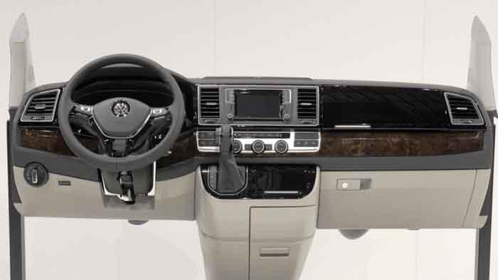 Moderne Technik hielt Einzug in den VW T6 Multivan.