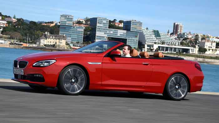 Das BMW 6er Cabrio