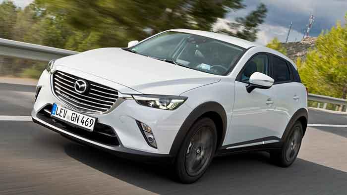 Mazda ist mit dem CX-3 erst in diesem Jahr auf den Mini-SUV-Zug gestiegen.