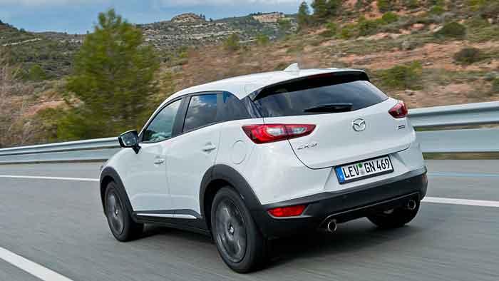 Mazda kann sich gute Chancen mit dem CX-3 im Mini-SUV-Segment ausrechnen.