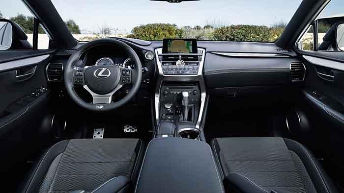 Lexus hat dem NX 200t einen starken Turbo spendiert.