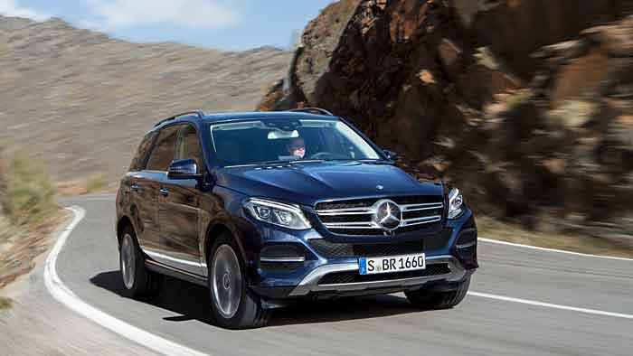 Aus Mercedes M-Klasse wird GLE