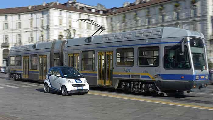 Car2Go ist nun auch in Turin aktiv.
