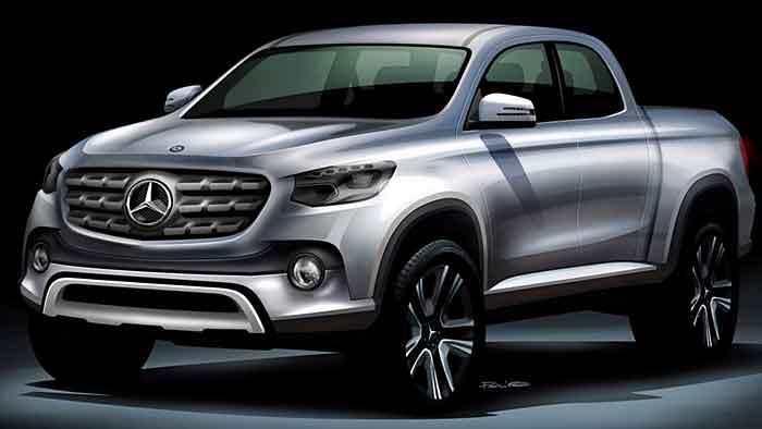 Der Mercedes Pick-up soll noch in diesem Jahrzehnt gebaut werden.