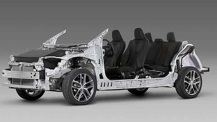 Toyota führt die New Global Architecture ein.