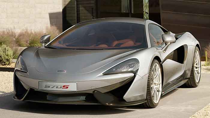 McLarens dritte Klasse