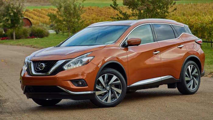 Der neue Nissan Murano sieht futuristisch aus.