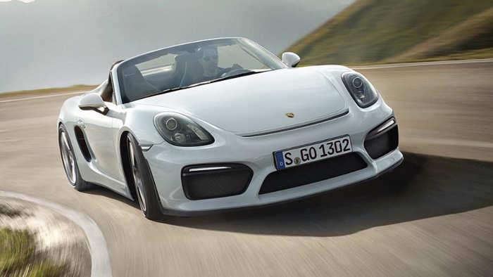 Porsche Boxster Spyder: Etwas für Puristen