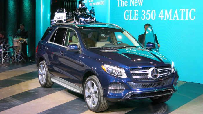 Mercedes GLE: Wachstum mit den Dickschiffen