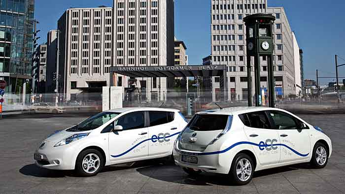 e-City Cab - elektrischer Personentransport auf Taxipreisniveau.