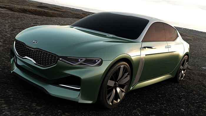 Kia stellt auf der Seoul Motor Show die designerische Zukunft vor.