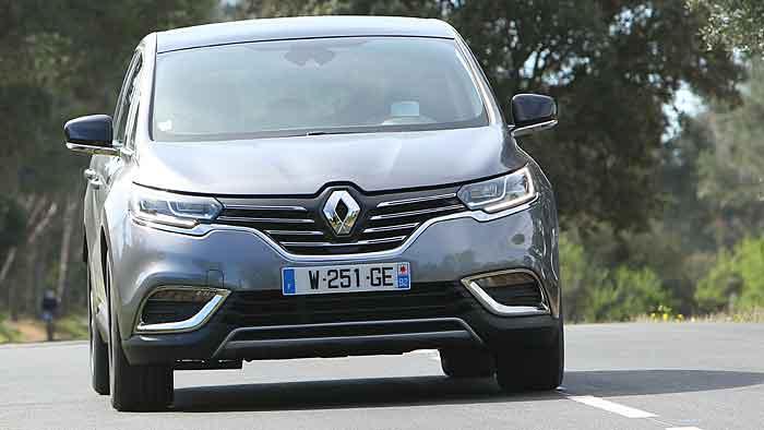 Auch der Renault Espace weist laut DUH erhöhte Werte auf.