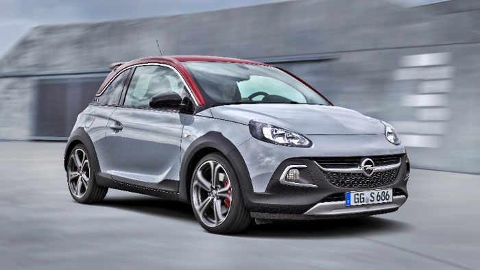 Der neue Opel Adam Rocks S hat 150 PS.