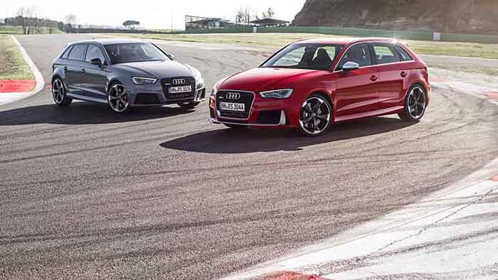 Der Audi RS3 Sportback betört nicht nur durch sein kehliges Röcheln.