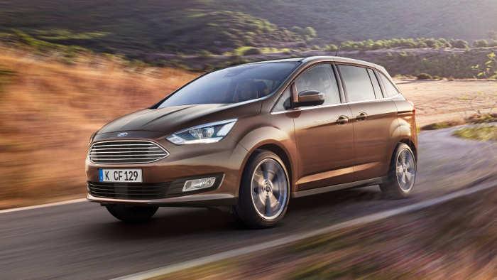 Der neue Ford Grand C-Max bietet effizientere Motoren.