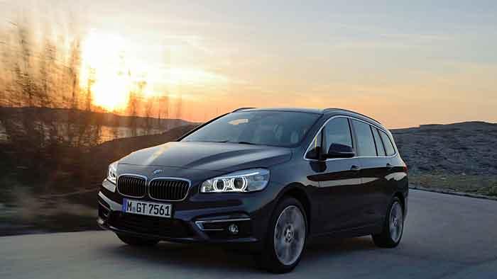Der BMW 2er Gran Tourer ist der einzige Premium-Siebensitzer im Segment.