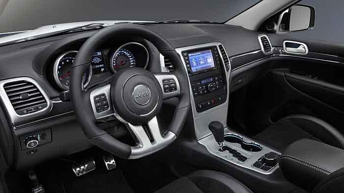 Der Jeep Grand Cherokee SRT 6,4L V8 verfügt über 468 PS.