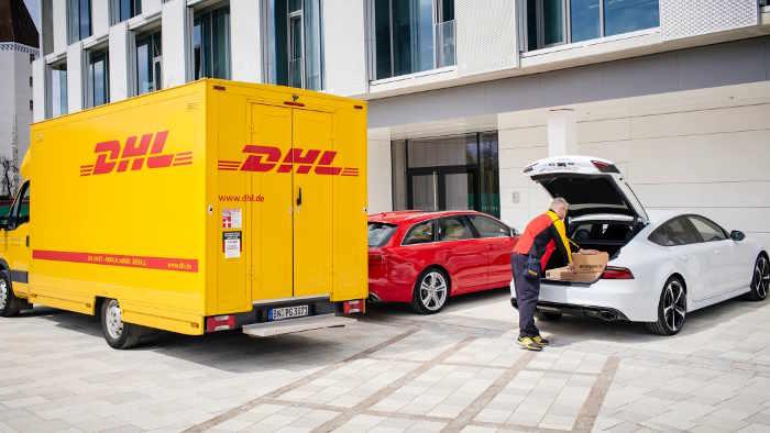 Audi macht das Auto zum mobilen Briefkasten
