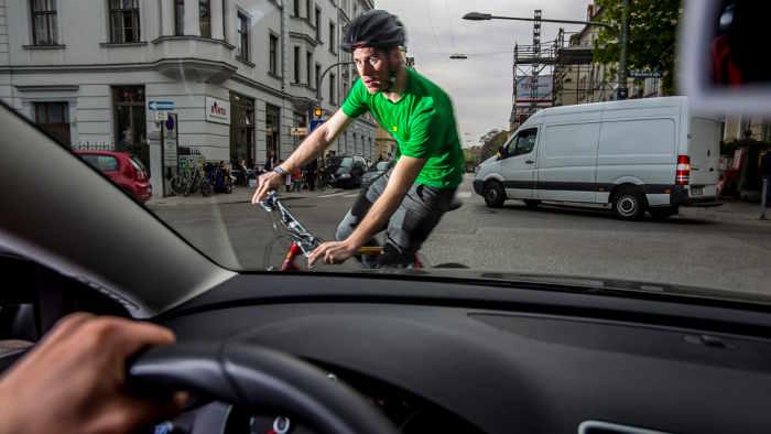 Radfahrer sind besonders gefährdet.