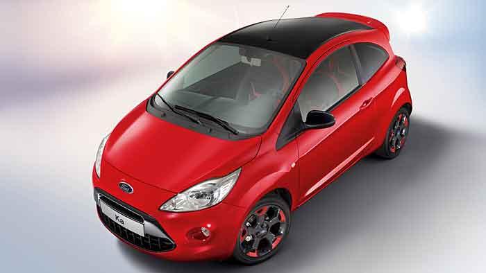 Der Ford Ka Red & Black ist auf 350 Einheiten limitiert.