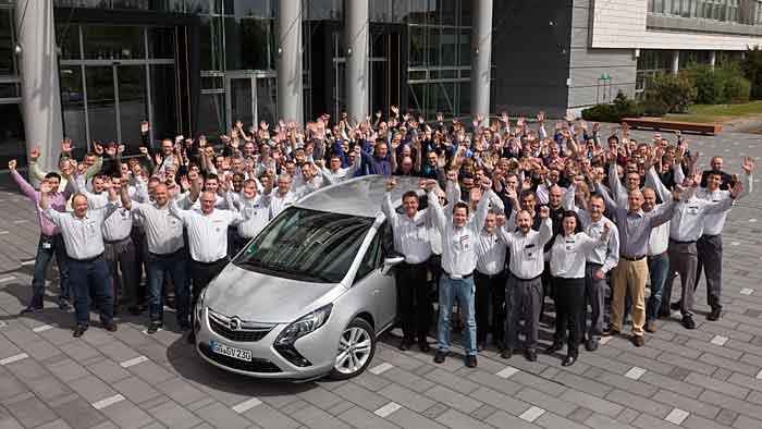 Opel feiert 68 Millionen produzierte Fahrzeuge.