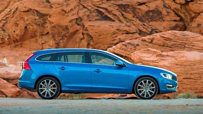 Der Volvo V60 T6 greift auf 306 PS zurück.