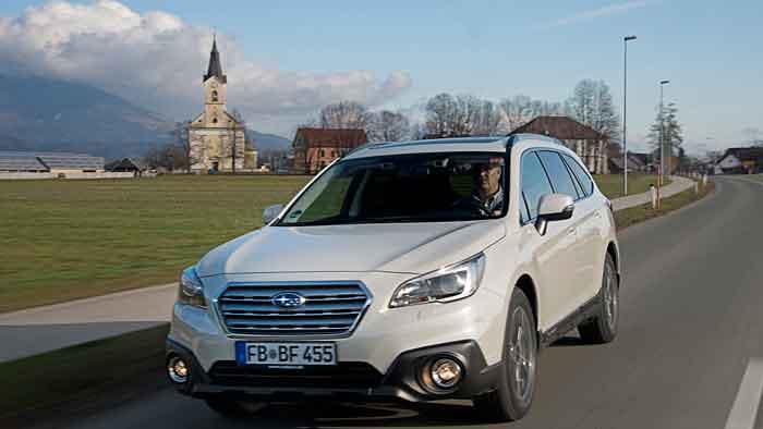 Der Subaru Outback hat sein rustikales Äußeres abgelegt.
