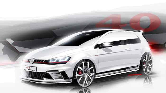 VW läutet Geburtstag des Golf GTI ein