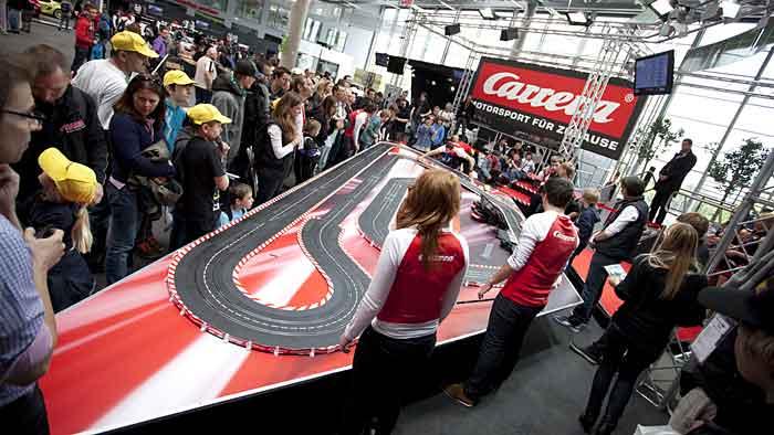 Das World Final von Carrera findet am kommenden Wochenende statt.