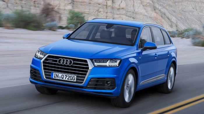 Der Audi Q7 ist ein Trumm von Auto