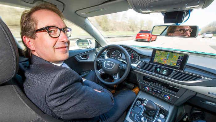 Deutschland als Leitanbieter beim autonomen Fahren