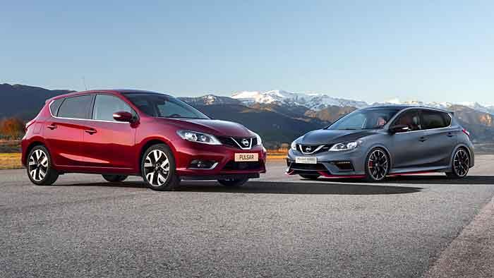 Die Nismo-Variante des Nissan Pulsar wird im nächsten Jahr erwartet.