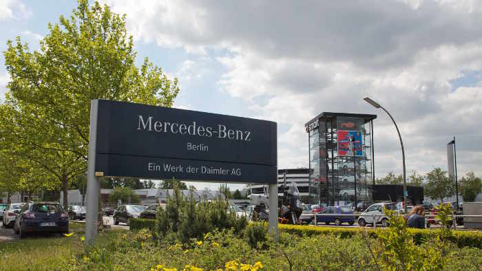 Mercedes-Werk Berlin neuer Hightech-Standort