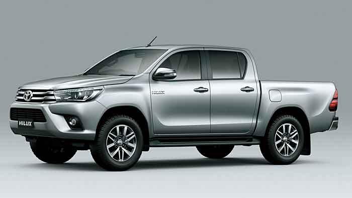 Der neue Toyota Hilux zeigt Kante